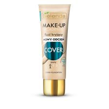 MAKE-UP ACADEMIE Fluid kryjący COVER - jasny 0, 30g